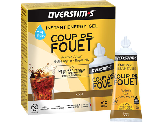 OVERSTIM.s Coup de Fouet Caja de Geles 10x30g, Cola